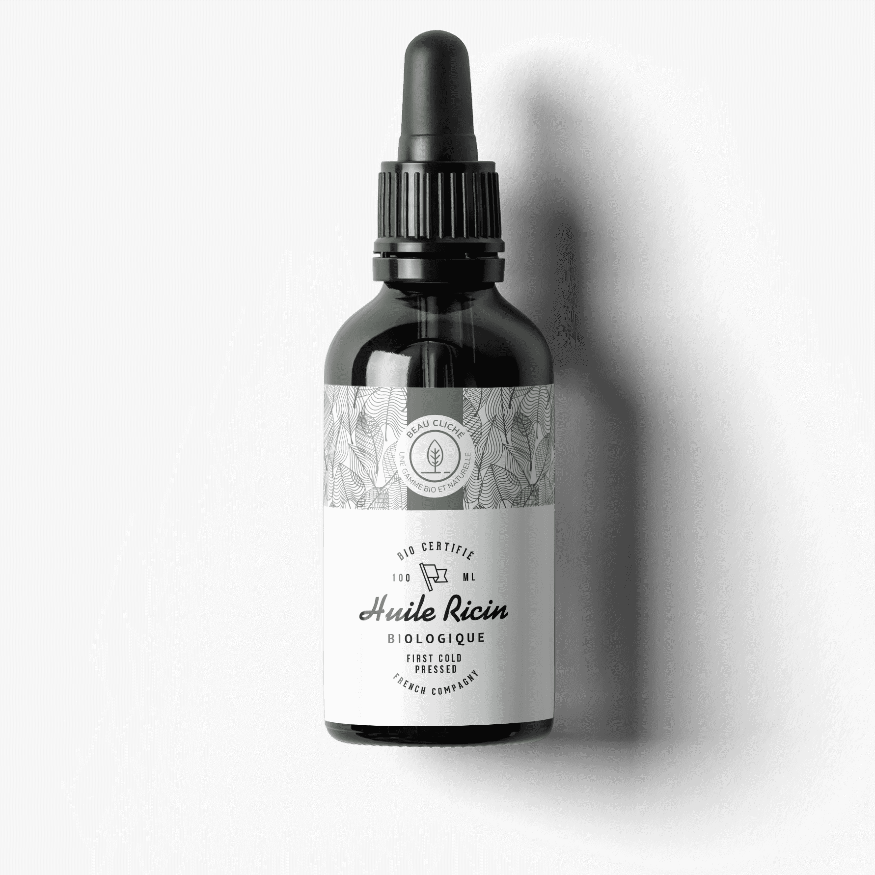 L'huile de ricin biologique